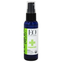 EO Essential Oil hand sanitizing spray, Organic Peppermint - 0.33 oz, 6 pack