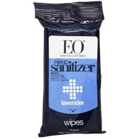 EO Essential Oil hand cleansing wipes, Lavender - 10 ea, 6 pack