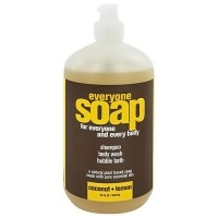 EO Products Everyone 3-in-1 Soap, Coconut and Lemon - 32 oz