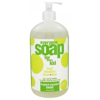 Eo Everyone Soap for Kids Tropical, Coconut Twist - 32 Oz