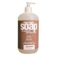 Essential oils everyone soap shampoo, body wash, bubble bath, unscented  -  32 Oz