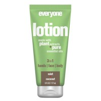 EO products everyone 3 in 1 lotion mint and coconut - 6 oz