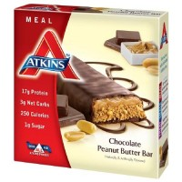 Atkins Advantage Chocolate Peanut Butter Bars - 1 ea ,5 bars