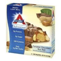 Atkins advantage caramel chocolate nut roll - 1.6 oz, 5 pack