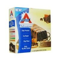 Atkins advantage dark chocolate decadence bar - 1.6 oz, 5  pack