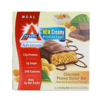 Atkins Meal Bar, Cookies n' Creme - 5 Bars