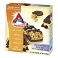 Atkins Day break chocolate chip crisp bar - 1.2 oz