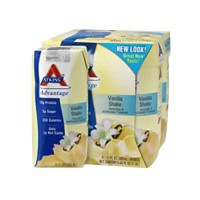 Atkins advantage french vanilla shake - 11 oz, 4  pack