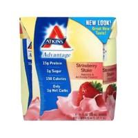 Atkins advantage strawberry shake - 11 oz