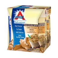 Atkins advantage cafe caramel shake - 11 oz