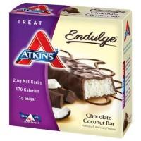 Atkins endulge chocolate coconut bar, 1.4 oz - 5 ea