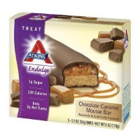 Atkins endulge treat chocolate caramel mousse bar - 1.2 oz, 5 pack