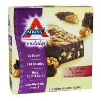 Atkins endulge nutty fudge brownie bars - 1.4 oz, 5 pack