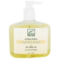 Tea Tree Therapy Antibacterial Liquid Soap, For Face and Hands - 8 oz