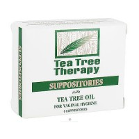 Tea Tree Therapy suppositories for vaginal hygiene - 6 ea