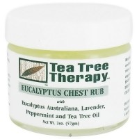 Tea tree therapy eucalyptus chest rub - 2 oz