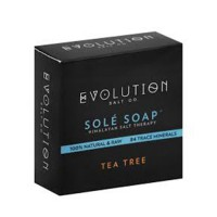 Evolution salt bath soap sole tea tree - 4.5 oz