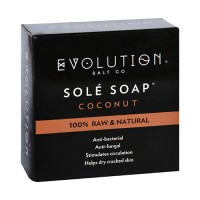 Evolution salt bath soap sole coconut - 4.5 oz