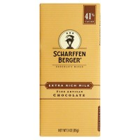 Scharffen berger milk chocolate bar - 3 oz, 12 pack