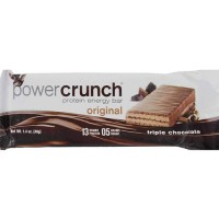Power crunch triple chocolate protein energy bars - 1.4 oz