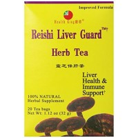 Health king reishi liver guard tea bags- 20 ea