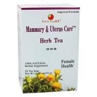 Health King Mammary and Uterus Care, Herb Tea - 20 Tea Bags