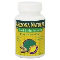Arizona Natural Homeopathic Cold And Flu Formula Capsules - 20 Ea