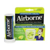 Airborne effervescent health formula tablets, lemon lime - 10 ea
