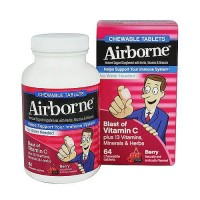 Airborne Immune Support With Vitamin C Chewable Tablets, Berry - 64 ea