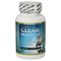 Clear the Pain Clear headache homeopathic herbal formula - 60 capsules