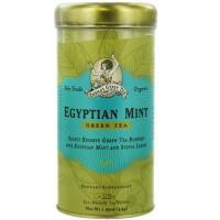 Zhenas gypsy tea egyptian mint green tea - 22 tea bags, 6 pack