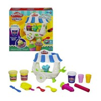 Play doh ice cream sundae cart playset - 5 oz