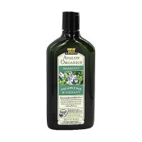 Avalon organics volumizing hair shampoo, rosemary - 11 oz
