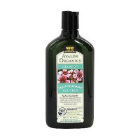 Avalon organics tea tree scalp treatment hair shampoo - 11 oz