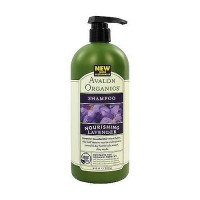 Avalon organics nourishing hair shampoo, organic lavender - 32 oz