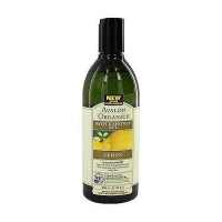 Avalon organics bath and shower gel, lemon - 12 oz