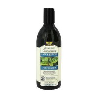 Avalon organics bath and shower gel, peppermint - 12 oz