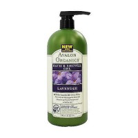 Avalon organics bath and shower gel, lavender - 32 oz