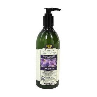 Avalon organics hand and body lotion, lavender - 12 oz