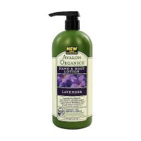 Avalon organics hand and body lotion, lavender - 32 oz
