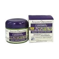 Avalon organics facial daily moisturizer, lavender - 2 oz