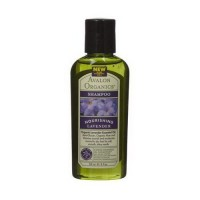 Avalon organics nourishing trial refill shampoo, lavender, 2 oz, 24 pack