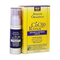 Avalon organics CoQ10 cellular renewing wrinkle defense serum, 0.55 oz