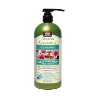 Avalon organics tea tree shampoo for scalp treatment - 32 oz