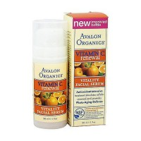 Avalon organics Vitamin C vitality facial serum - 1 oz
