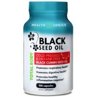 Health logics black cumin seed oil softgels - 100 ea