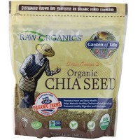 Raw organics organic chia seed - 12 oz