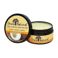 Shea Natural 100% Whipped Shea Butter Coconut Ginger - 6.3 oz