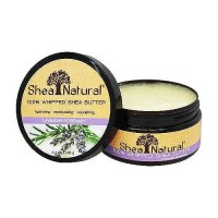 Shea Natural 100% Whipped Shea Butter Lavender, Rosemary - 6.3 oz