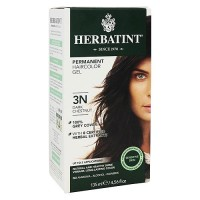 Herbatint Permanent Herbal Hair Color Gel, 3N Dark Chestnut - 4.56 oz